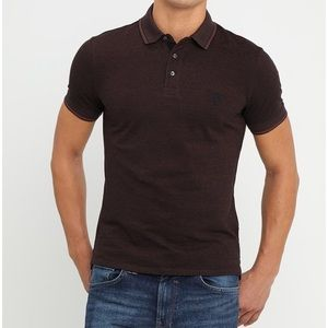 Selected Homme | Twist Chocolate Polo Shirt L